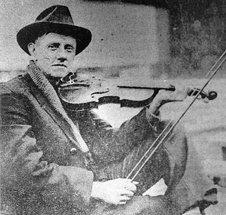 American folk music - Image: Fiddlin'John Carson