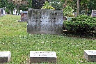 Fielding H. Yost - Yost's grave