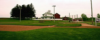 English: Field of Dreams - Dyersville, Iowa - ...