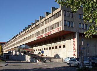Swedish Film Institute - Filmhuset in Stockholm, the seat of the Swedish Film Institute
