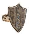 Fingerring av guld med hårmatta - Hallwylska museet - 110220.tif