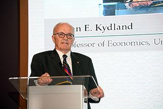 Finn E. Kydland Norwegian economist