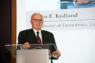 Finn E. Kydland - Kydland in 2015