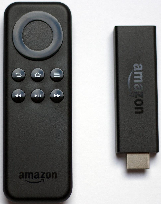 Fire-TV Stick and Remote