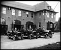 Fire engines in front of Fire Station No 25, 1912 (MOHAI 6271).jpg