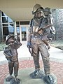 Firefighter Statue in Edmond OK - panoramio.jpg