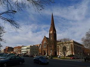 Northampton, Massachusetts - First Church, Main Street, Northampton