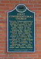 First Congregational Church of Chelsea historical marker, 121 Middle Street, Chelsea, Michigan - panoramio.jpg