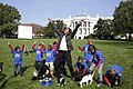 First Lady Michelle Obama and Students from Harriet Tubman Elementary School.jpg