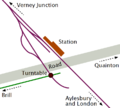 First Quainton Road station layout.png