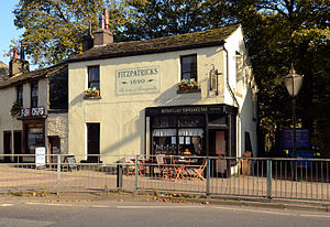 Alcohol-free bar - Fitzpatrick's Temperance Bar, Rawtenstall, Lancashire, established 1890