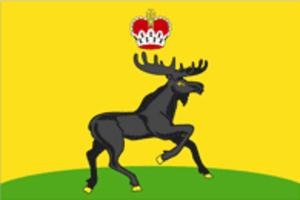Cherdynsky District - Image: Flag of Cherdynsky rayon (Perm krai)