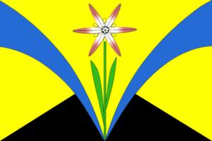 Iskitimsky District - Image: Flag of Iskitimsky rayon (Novosibirsk oblast)