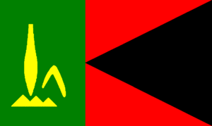 Flag of Vanuatu - Image: Flag of People's Provisional Government of Vanuatu