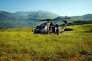 Flickr - Israel Defense Forces - Israeli Black Hawk Helicopter Lands in the Golan Heights
