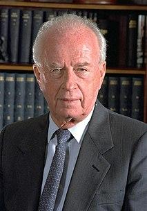 Yitzhak Rabin Israeli politician, statesman and general