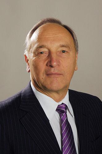 Andris Bērziņš (Latvian President) - Image: Flickr Saeima 10.Saeimas deputāts Andris Bērziņš (ievēlēts no Vidzemes apgabala)