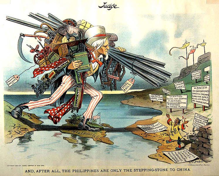 File:Flohri cartoon about the Philippines as a bridge to China.jpg