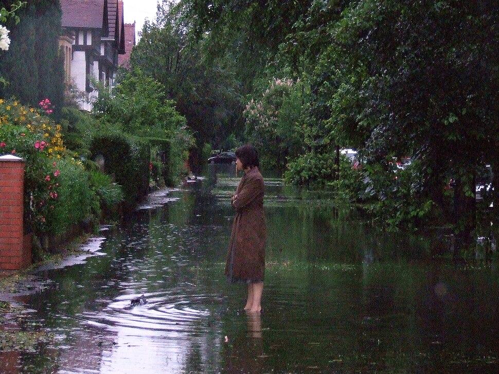 Floods in Hull -25June2007
