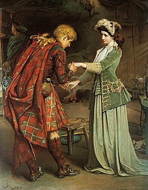 George W. Joy - Flora MacDonald's farewell to Prince Charlie