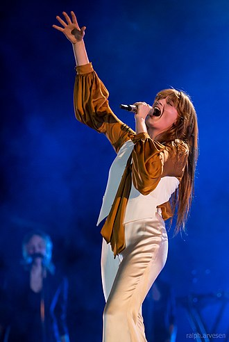 Florence Welch - Welch at the Austin City Limits Music Festival in 2015