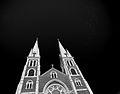 Flying Birds over Saint John the Evangelist Catholic Church 120905-9702-jikatu.jpg
