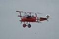 Fokker Dr.I Manfred Richthofen Pass two 10 Dawn Patrol NMUSAF 26Sept09 (14413495367).jpg
