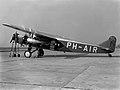 Fokker F-XVIII Rijstvogel (1933).jpg