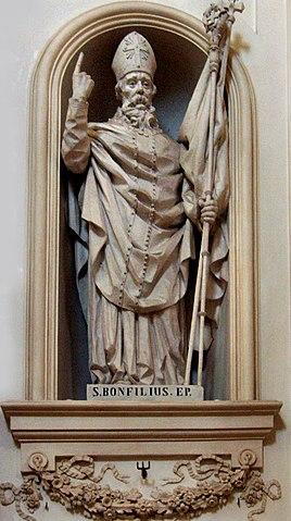 sveti Bonfilij - opat in škof