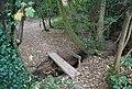 Footbridge in Sproud's Wood - geograph.org.uk - 1546855.jpg
