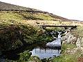 Footbridge over Dye Water, near Little Law - geograph.org.uk - 375625.jpg