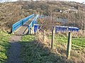Footbridge over the A19 - geograph.org.uk - 314421.jpg
