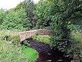 Footbridge over the River Worth near Lumbfoot - geograph.org.uk - 539810.jpg