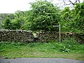Footpath and stile to Abbot Holme - geograph.org.uk - 436614.jpg