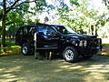 Ford Excursion limited Armored Car of ROC Military Police in Military Police School Woods 20120908a.jpg