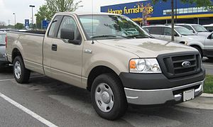 2004-2007 Ford F-150 photographed in USA.