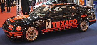 World Touring Car Championship - Eggenberger Motorsport Ford Sierra RS500 of Klaus Ludwig and Klaus Niedzwiedz