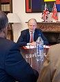 Foreign Office Minister, Henry Bellingham With Ewart Brown Prime Minister Of Bermuda (4729391867).jpg