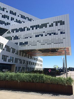 Okkupert - The offices of energy company Statoil served as the fictional office of the Prime Minister