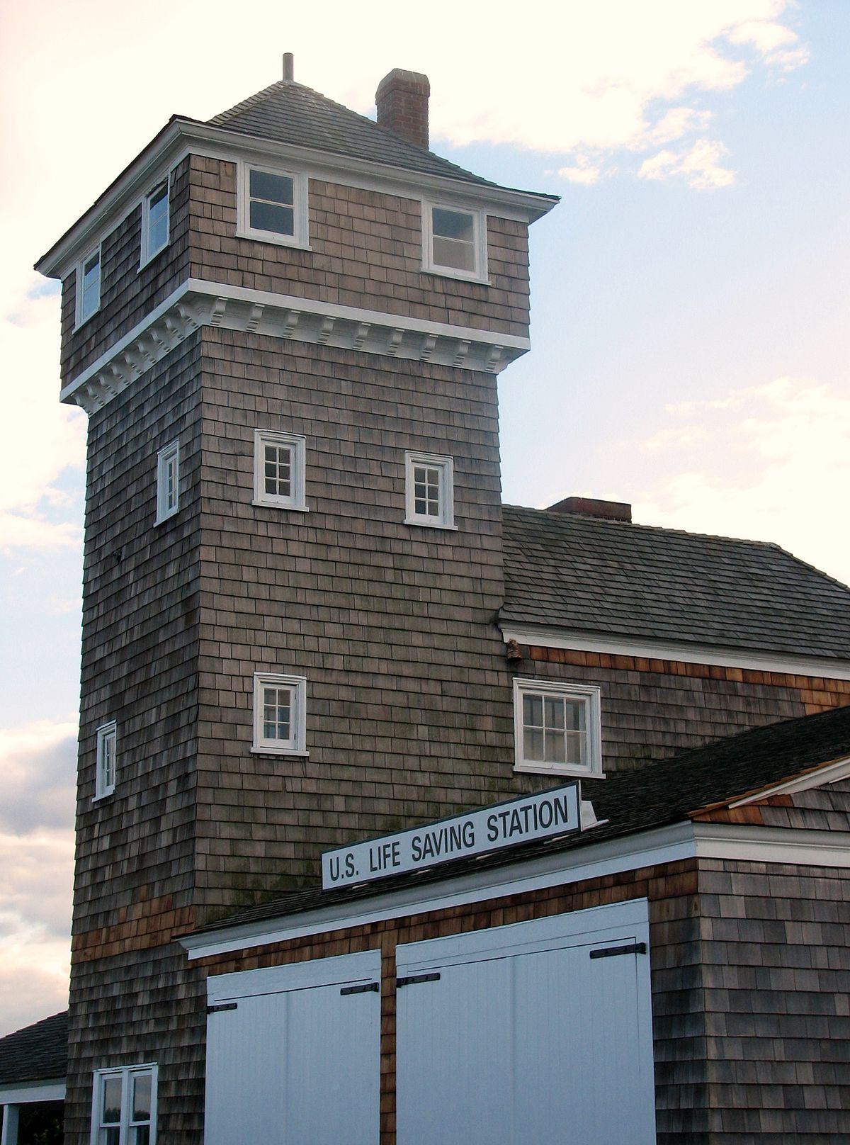 Nearest Service Station >> Fort Hancock U.S. Life Saving Station - Wikipedia