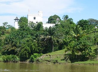 Fort Margherita - Fort Margherita was erected by Rajah Charles and named after his wife, the Ranee Margaret.