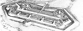Fort Foote - Image: Fort foote drawing