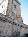 Fortress flags in Barcelona.jpg