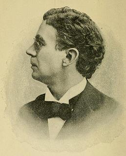 Foster McGowan Voorhees American politician