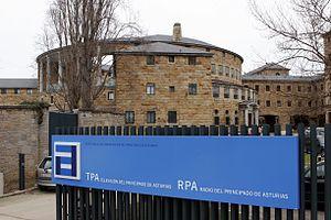 Radiotelevisión del Principado de Asturias - Headquarters of the RTPA in the Laboral University, in Gijón.