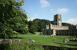 Fountains Abbey ved Ripon