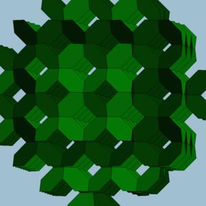 六角四片四角孔ねじれ正多面体 六角四片四角孔ねじれ正多面体