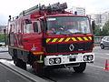 Fourgon d'Appui des pompiers de Paris, Renault, mai 2012, Paris 17ème arrondissement..JPG