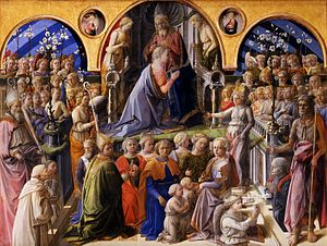 Coronation of the Virgin - Image: Fra Filippo Lippi 007
