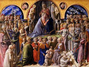 Coronation of the Virgin - Image: Fra Filippo Lippi 007